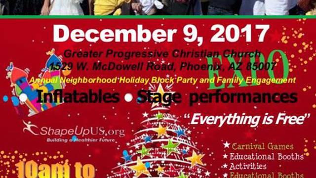 Arizona Dept of Education Neighborhood Holiday Block Party - 12/9/17