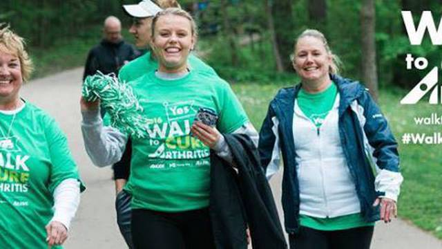 AZGB at Walk to Cure Arthritis - 5/5/18
