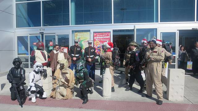 Eleventh Annual Toy Drive - Day 2