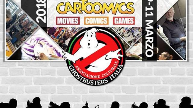Ghostbusters Day Al Cartoomics 2018