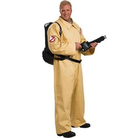 Deluxe Ghost Busters Costume - Plus Size - Chest Size 46-50