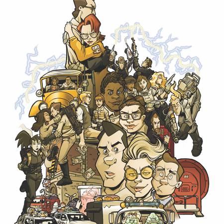 Ghostbusters 101 #5 Cover B Comic