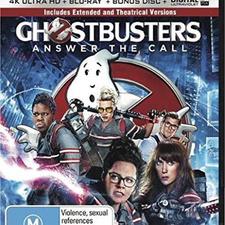 Ghostbusters 3 Answer the Call 4K UHD