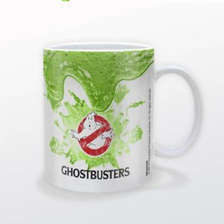 Ghostbusters - Ceramic Coffee Mug (Logo & Slime)