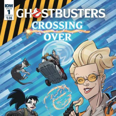 Ghostbusters: Crossing Over Issue #1