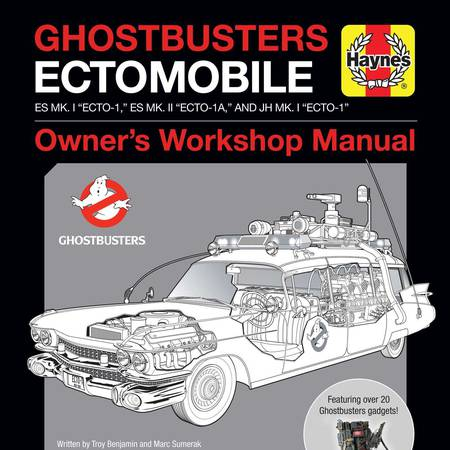 Ghostbusters: Ectomobile: Owner's Workshop Manual