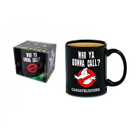 Ghostbusters Heat Reveal Ceramic Coffee Mug With Classic No Ghost Logo