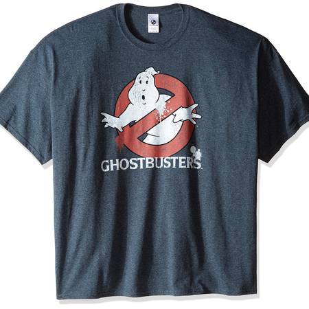 Ghostbusters Men's Big and Tall Classic Logo T-Shirt