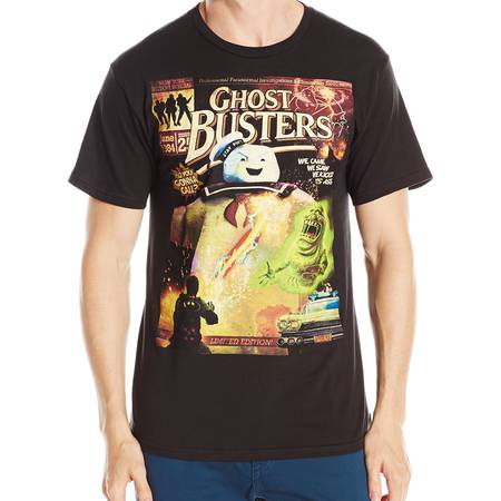 Ghostbusters Men's Bustin Covers T-Shirt