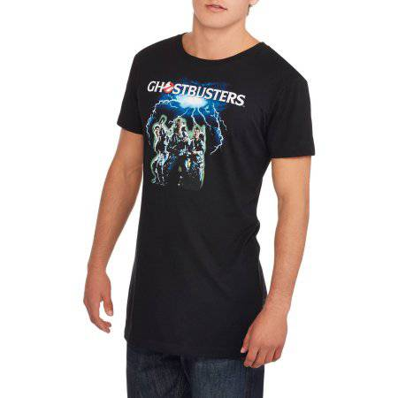 Ghostbusters Men's Extended Length Graphic Tee