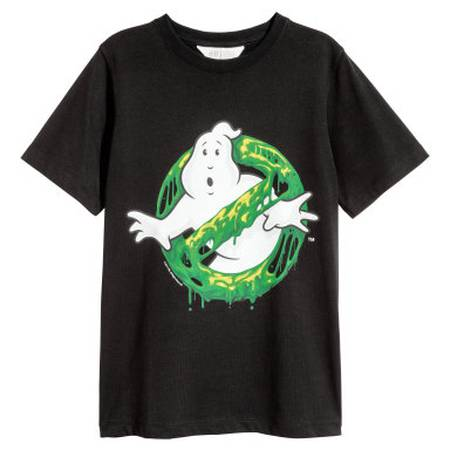 Ghostbusters T-shirt with Printed Motif