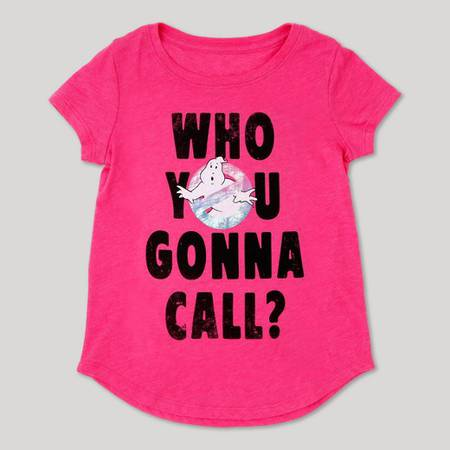 Girls' Ghostbusters T-Shirt - Pink