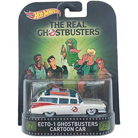 Hot Wheels 1:64 Scale Retro Entertainment Ghostbusters Echo-1 Cartoon Car