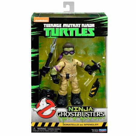 Ninja Ghostbusters - Donatello as Spengler