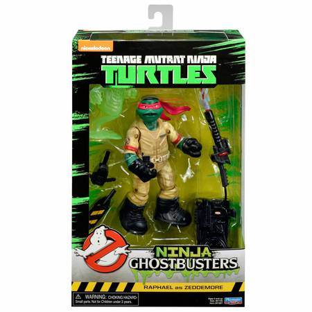 Ninja Ghostbusters - Raphael as Zeddemore
