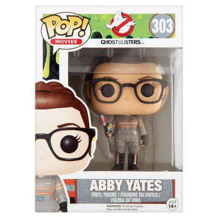 Pop! Movies Ghostbusters 303 Abby Yates Vinyl Figure Age 14+