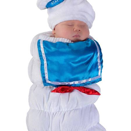 d587270cebf Princess Paradise Baby Ghostbusters Stay Puft Swaddle Deluxe Costume