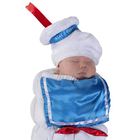 Princess Paradise Baby Ghostbusters Stay Puft Swaddle Deluxe Costume