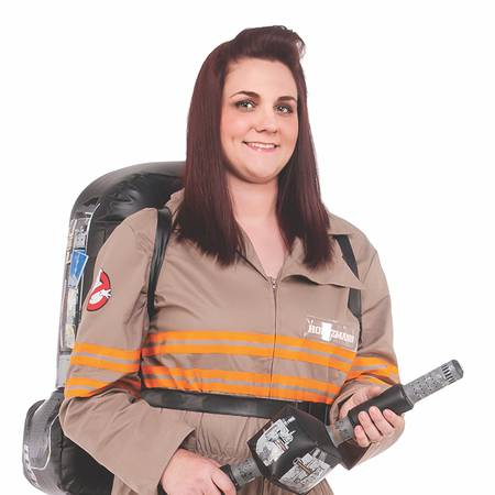 Rubie's Women's Ghostbusters Movie Deluxe Plus Size Costume