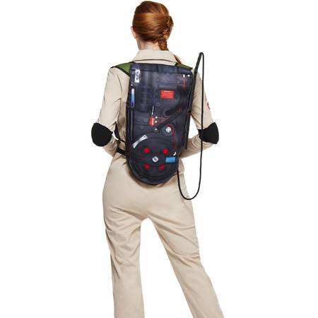 5760db06eb3 Spirit Halloween Adult Womens Ghostbusters Jumpsuit Costume - Ghostbusters  Classic
