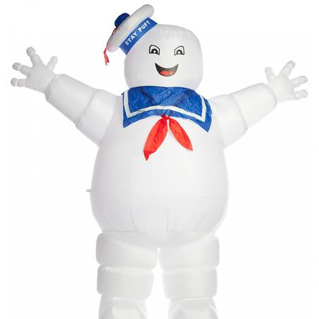 Stay Puft Marshmallow Man 8 Foot Inflatable Decoration