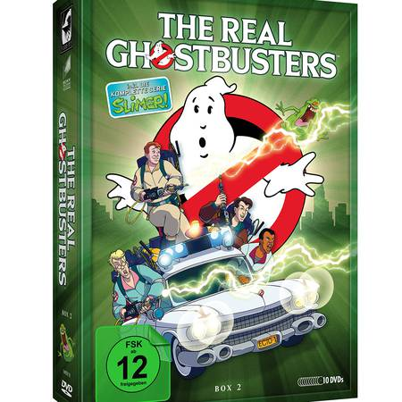The Real GHOSTBUSTERS - Box 2 (10 DVDs)