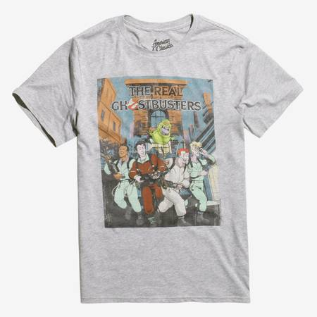 The Real Ghostbusters Poster T-shirt