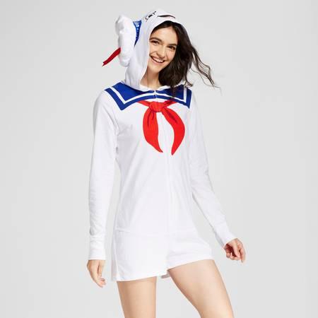 Women's Stay Puft Uniform Romper Ghostbusters