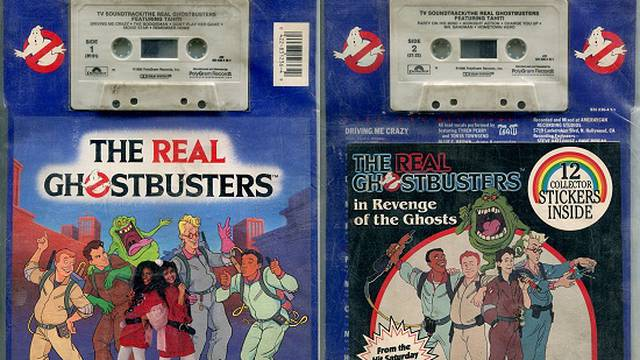 18 Years Ago Today...Buying The Real Ghostbusters Soundtrack Cassette