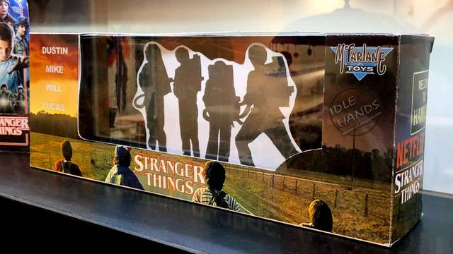 7″ Stranger Things Ghostbusters action figure boxset coming from McFarlane Toys