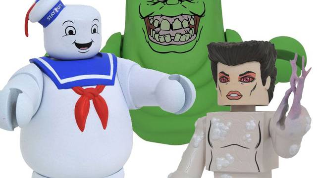 Available Now: New Ghostbusters Vinimates from Diamond Select Toys