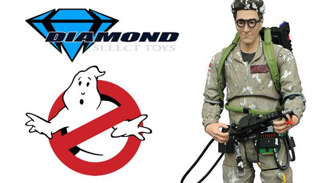 Coming this spring from Diamond Select Toys: Marshmallow Egon Spengler