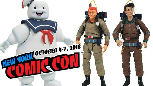 Diamond Select's Real Ghostbusters toyline to be on display at New York Comic-Con