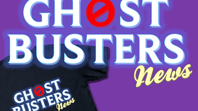 Get REAL with the new Ghostbusters News t-shirt!