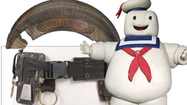 Ghostbusters and Ghostbusters 2 items being auctioned by Profiles in History
