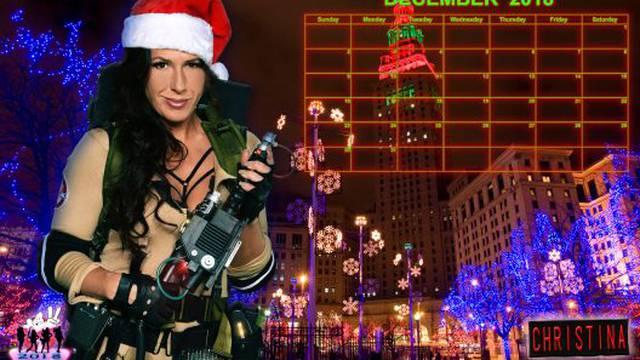 Ghostbusters Calendar: December 2018