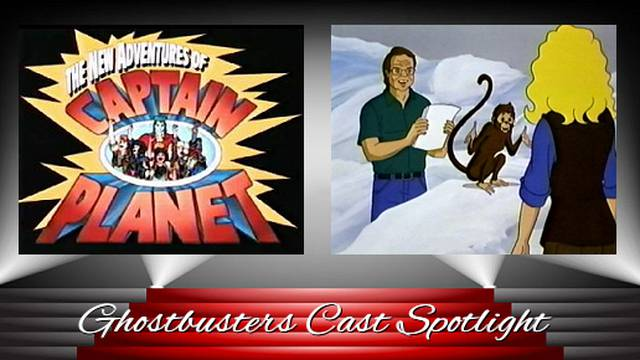 Ghostbusters Cast Spotlight - Frank Welker & Kath Soucie in Captain Planet