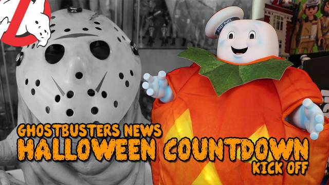 Ghostbusters Halloween Countdown 2018: Stay Puft & Slimer's Halloween Costumes!