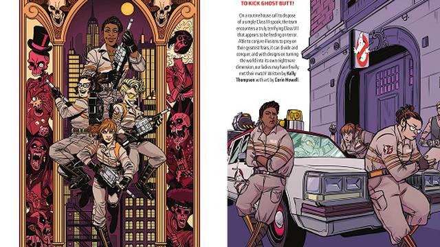 IDW Ghostbusters: Answer The Call Trade Paperback Book Review