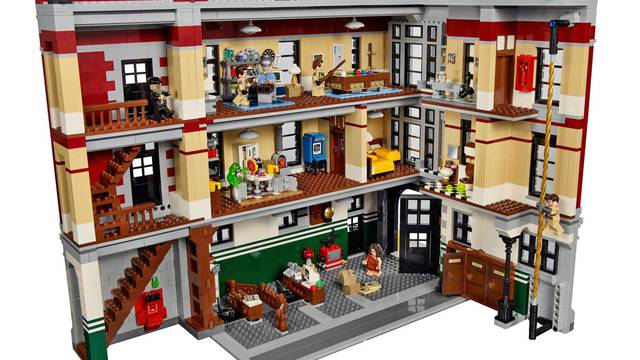 Lego will soon retire Ghostbusters Firehouse Headquarters building set