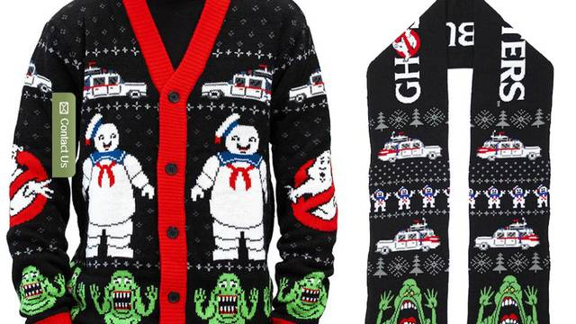 Middle of Beyond reveal officially licensed Ghostbusters winter collection!
