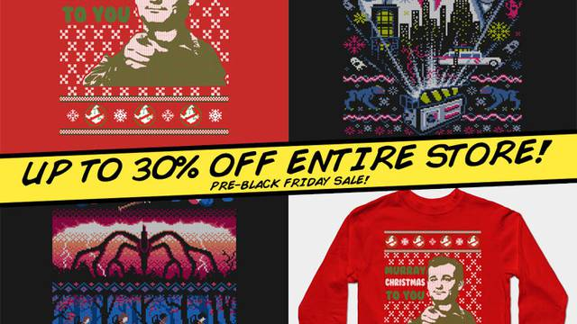 OUR PRE-BLACK FRIDAY SALE ENDS TONIGHT!