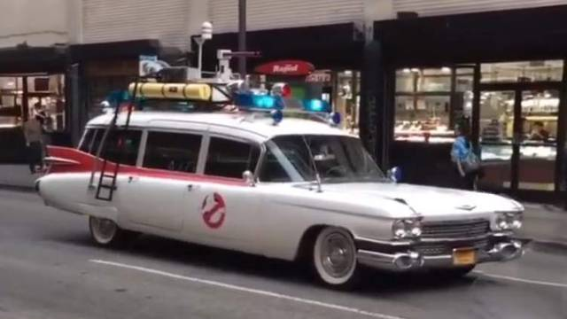 REPORT/VIDEO: Update on why an Ecto-1 was being filmed yesterday in Los Angeles