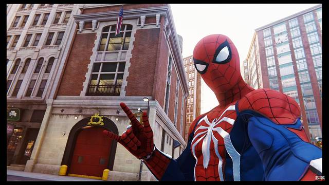 The Ghostbusters Firehouse featured in new Spider-Man game! (video included)