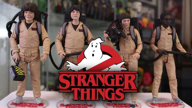 Unboxing: Stranger Things/Ghostbusters 4-Pack