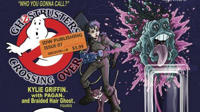 Variant cover to Ghostbusters comic will bring back all those childhood memories