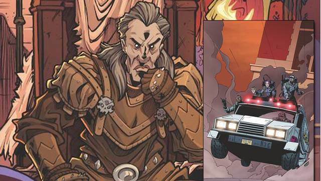 Vigo the Carpathian set to return in upcoming one-shot Ghostbusters comic