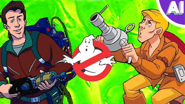Was THE REAL GHOSTBUSTERS Cartoon a Ripoff? | Nerdist