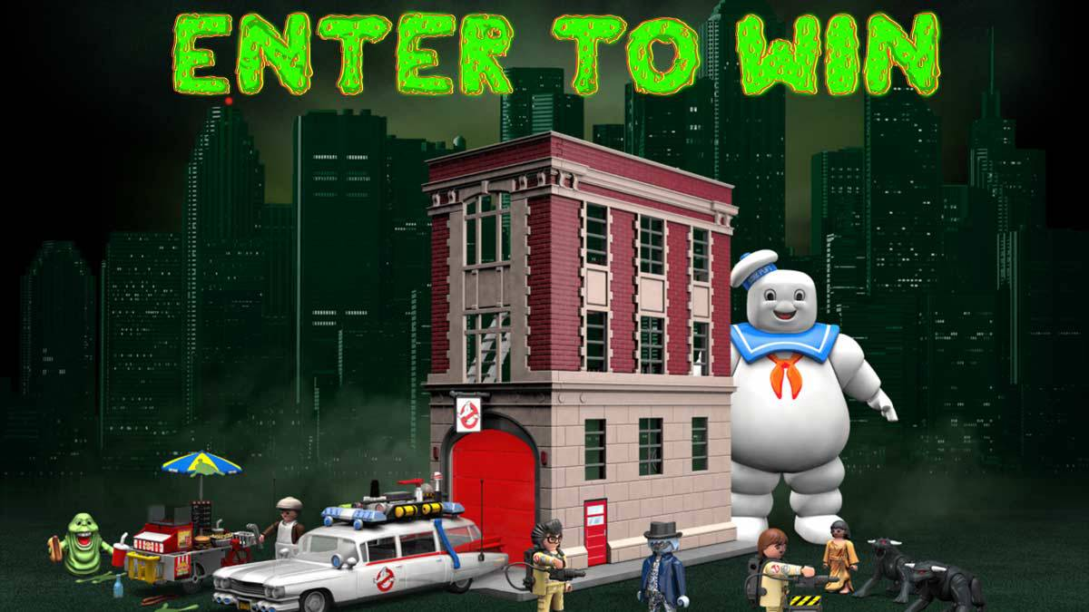 Enter to Win Ghostbusters Toys from Playmobil!