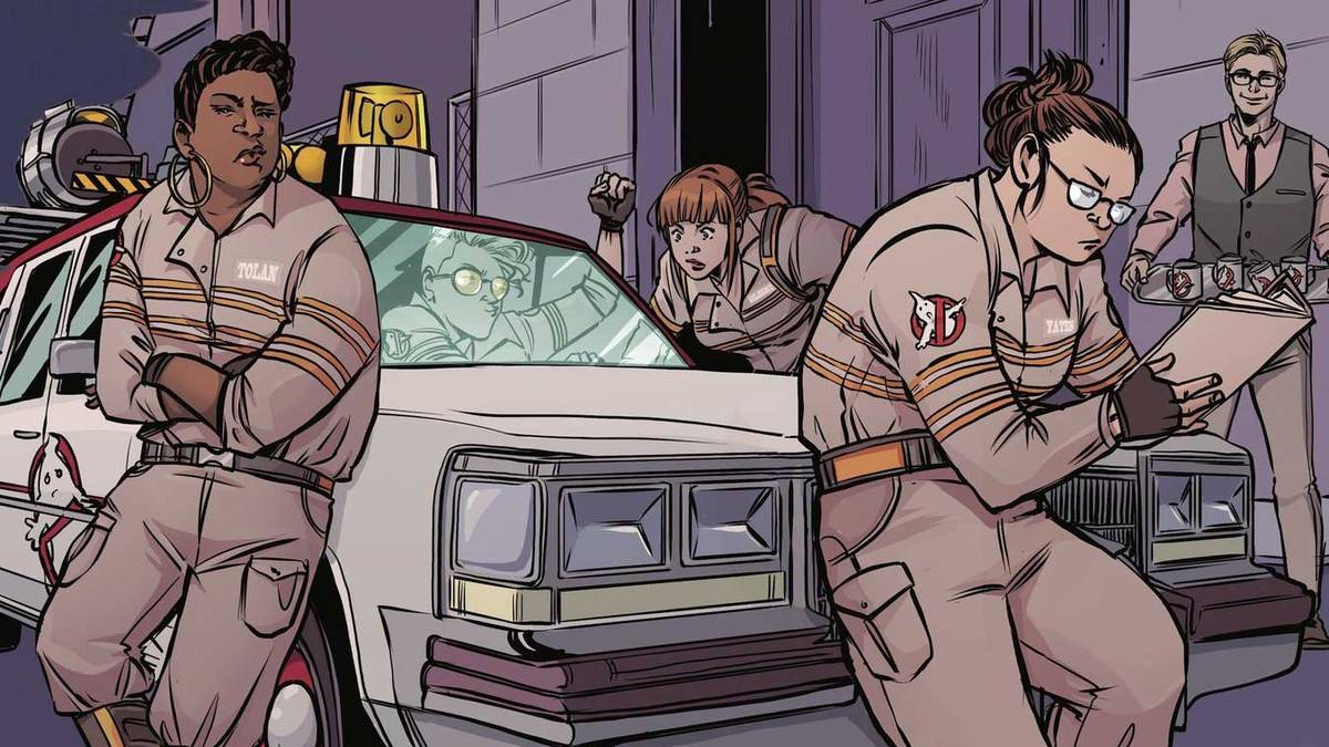 IDW Announces Ghostbusters: Answer the Call 5 Issue Comic Series